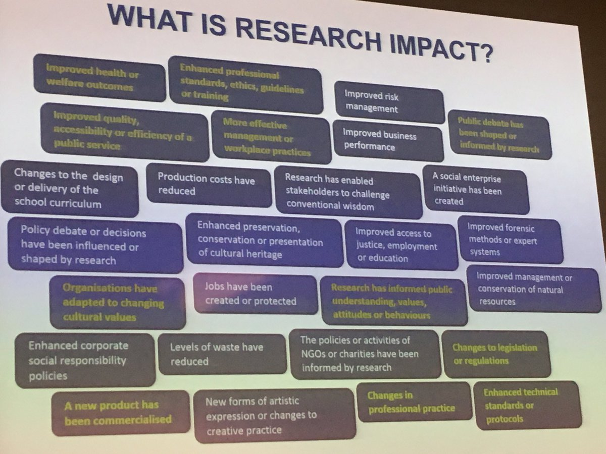 Hugh. Somewhat more useful... and mention of the impact db  http:// impact.ref.ac.uk/CaseStudies/  &nbsp;   and remember Impact is a team sport! #REFOFE <br>http://pic.twitter.com/LQwfwThsYi