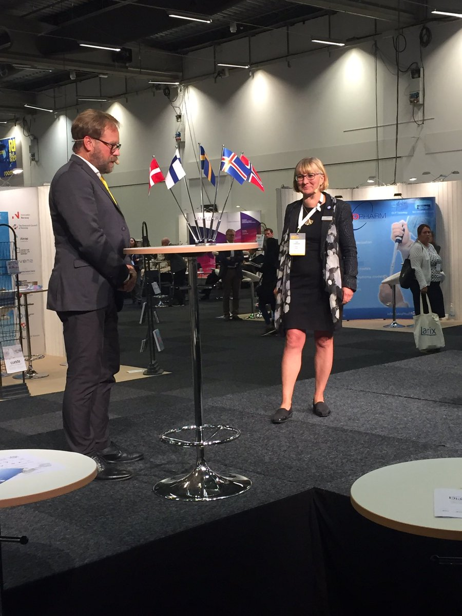 Wrapping up #NLSDays by Jonas Ekstrand #SwedenBIO together with Lotta Ljungqvist GE Nordics. Thanks for an excellent event @NLSDays<br>http://pic.twitter.com/vjg1c9t1NZ