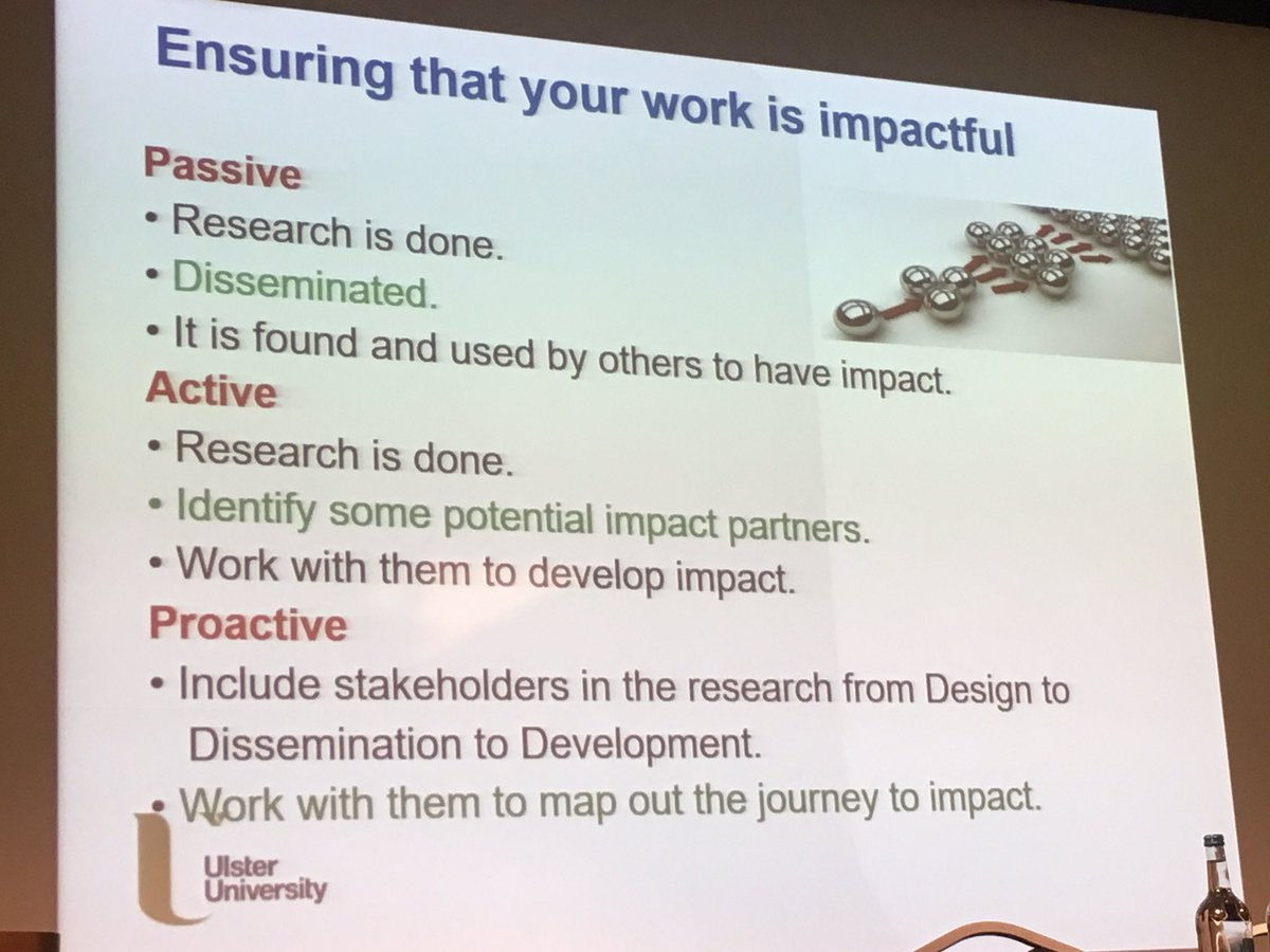 Hugh. Don&#39;t just be passive ... think about maximising your impact  #REFOFE <br>http://pic.twitter.com/g3aTvhn2qT