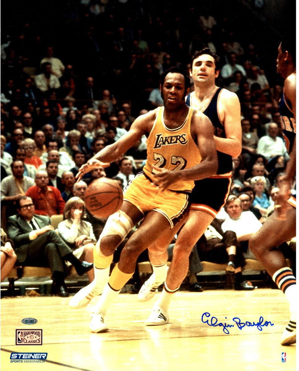 Happy birthday, Elgin Baylor!  Signed photo normally $160, today $70 »