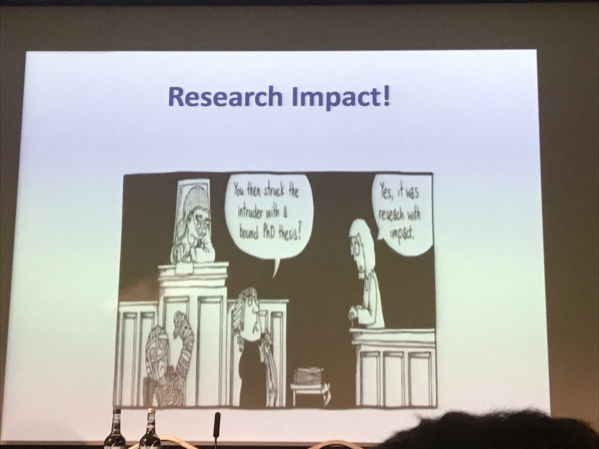 Great way to end on #impact @prof Hugh McKenna #REFOFE <br>http://pic.twitter.com/OckK60HZFN