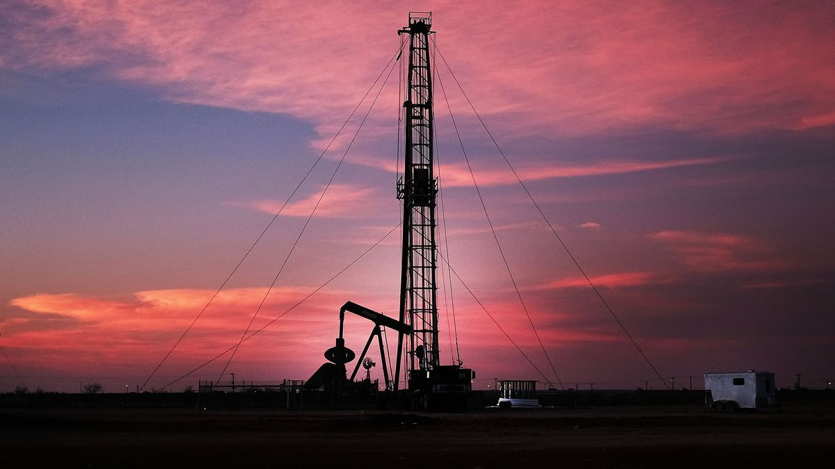 drilling pits on sunrise