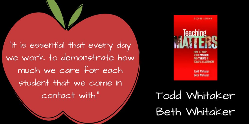 Make every day count! #TipsFromToddWhitaker https://t.co/F88ObDal9b