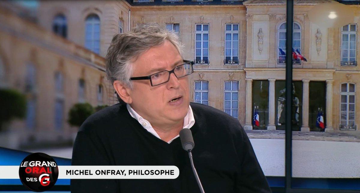 VIDÉO 🎬 - '@EmmanuelMacron est narcissique. Ce n'est pas Jupiter, c'est Néron !' @MichelOnfrayTv #GGRMC https://t.co/BylMjKQFVU