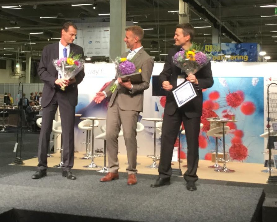 The winners of Nordic Stars Award, Herantis pharma, Pelago &amp; Targovax were announced at the final session at #nlsdays <br>http://pic.twitter.com/P2xVdkWLL3