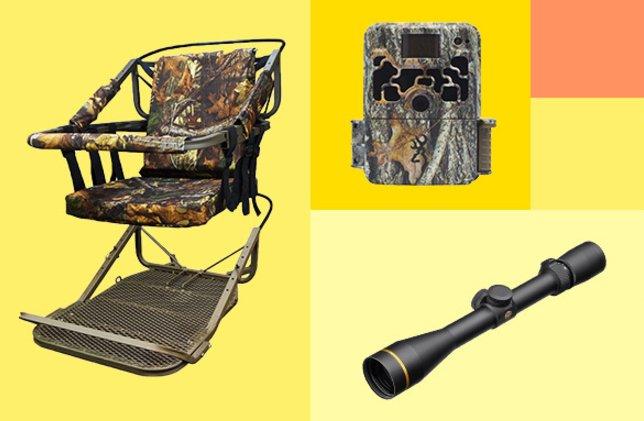 For hunting partner