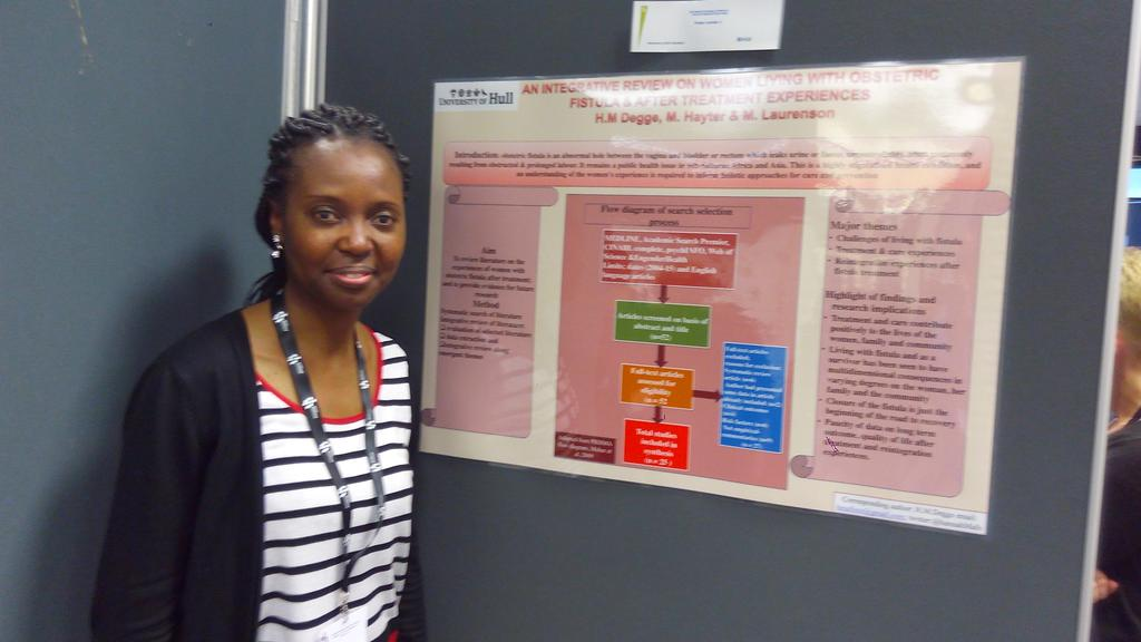 #medsoc17 poster &quot;Integrative review on women living with obstetric fistula &amp; after treatment experiences&quot;. <br>http://pic.twitter.com/NR6kayc49F