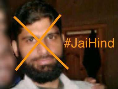 Abu cant Ismailanymore #AbuIsmail sent 2 Jahannum by  Army #AmarnathTerrorAttack avenged #JaiHind @adgpi @MajorPoonia @majorgauravarya<br>http://pic.twitter.com/17J8YrhVos