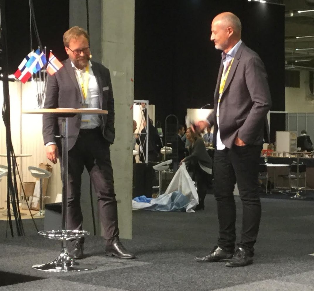 .@Jonas_Ekstrand of  @SwedenBIO &amp; Olivier Duchamp of #bionordic closing the #nlsdays 2017. <br>http://pic.twitter.com/miVtGLD9eB