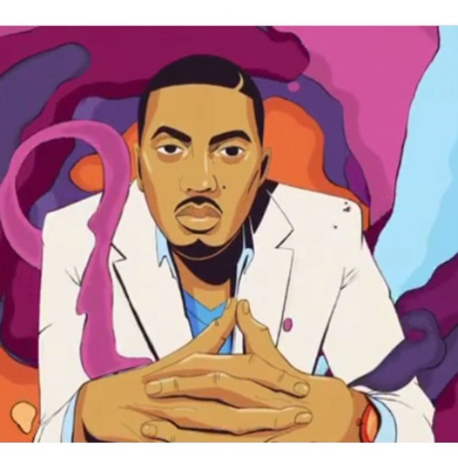 The world is yours! Happy Birthday Nas!