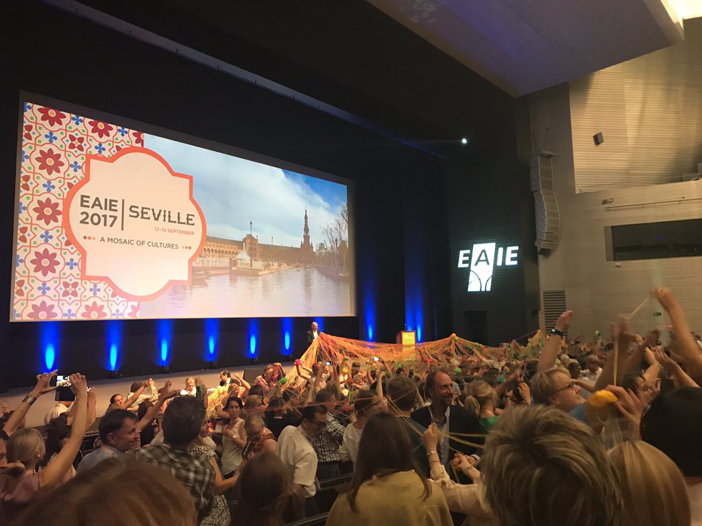 Mosaic of cultures: international cooperation as paramount to achieve quality education worldwide! #StrongerTogether #Eaie2017 <br>http://pic.twitter.com/Og3IWB2lbl