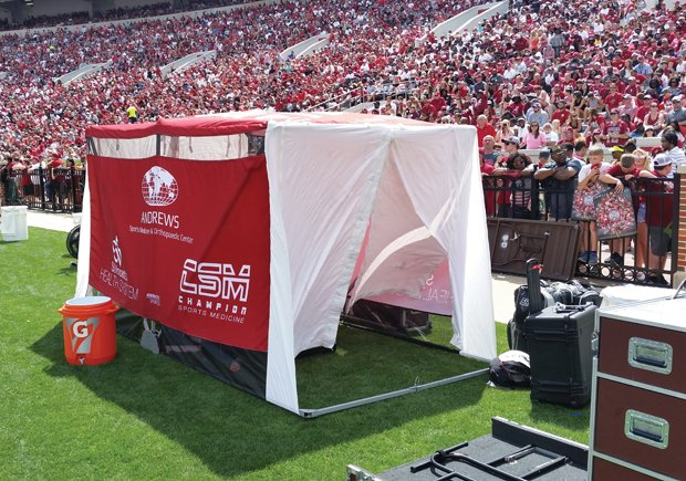 ... sideline medical tent gaining nationwide attention //.businessalabama.com/Business-Alabama/September-2017/SidelinER-Takes-Center-Stage/ ... & Business Alabama on Twitter: