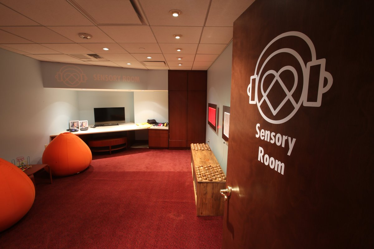 It's #NationalQuietDay! The Q is proud to be the 1st Sensory Inclusive NBA Arena to offer a Quiet Space Sensory Room  http:// bit.ly/2olpgCl  &nbsp;  <br>http://pic.twitter.com/QeYTBgPxBu
