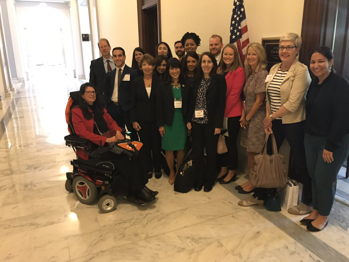 Thank you, @timkaine for meeting with the #RallyMedRes and being a champion to #FundNIH &amp; #RaisetheCaps <br>http://pic.twitter.com/Ejvb9zfnKF
