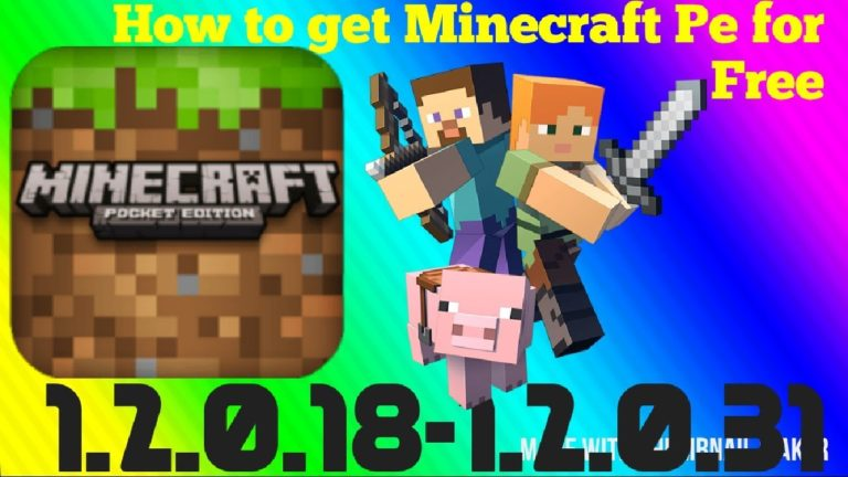 minecraft pe game free