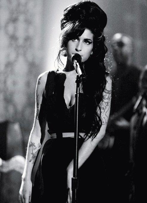 Happy birthday to THE Queen. Happy birthday Amy Winehouse.