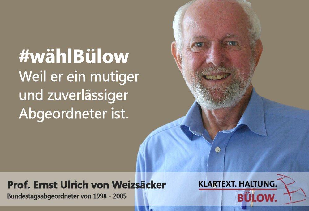 Resultado de imagen de marco Bülow Ernst Ulrich Weizsacker