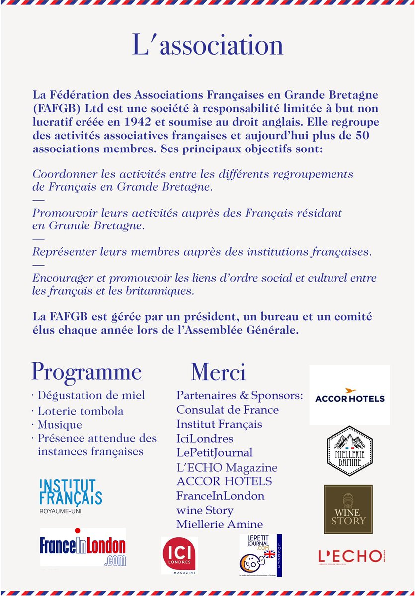 FAFGB on Twitter Le 5eme Forum des associations sera le 7
