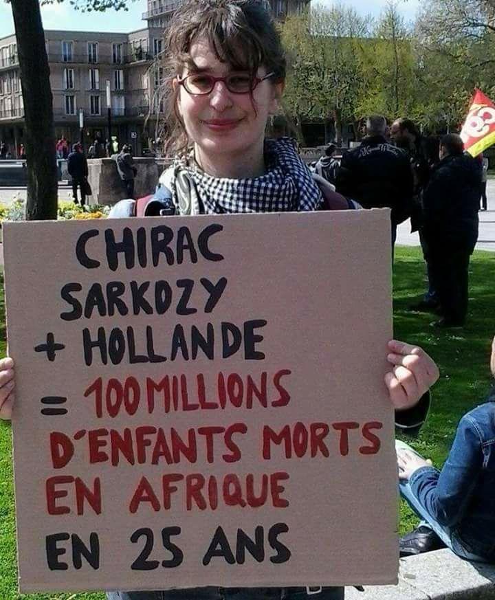 #Chirac #Sarkozy #Hollande #Macron = 100 millions d&#39;enfants morts en #Afrique en 25 ans #Togo #CIV #Burkina #Mali ...<br>http://pic.twitter.com/K2CYe3LTye