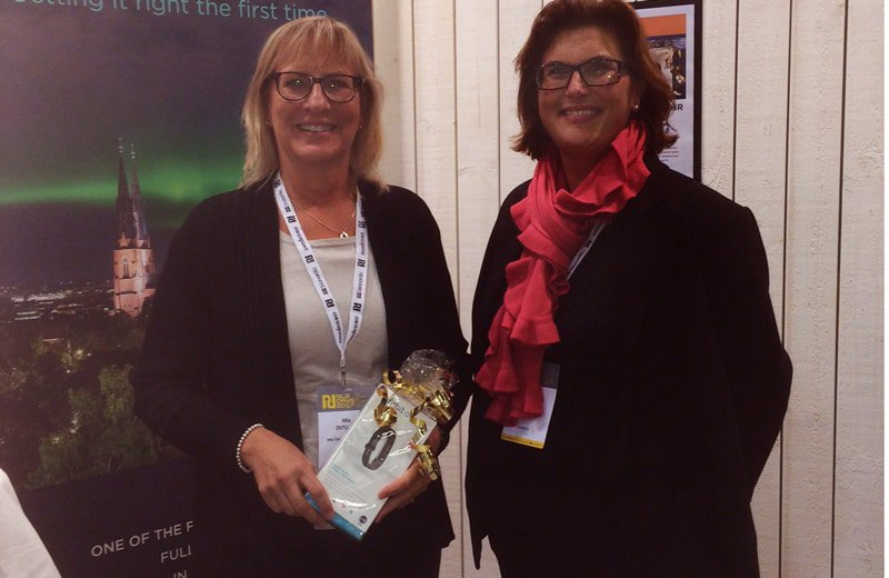 Mia Östlund from Mia Östlund Consulting won today&#39;s Fitbit from our Booth raffle today! Congrats Mia &amp; thank you for a great day at #nlsdays <br>http://pic.twitter.com/U9Z9pDixbo