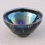 東京国立博物館「フランス人間国宝展」 まず最初の暗い部屋に輝く天目茶碗が100個ほど表裏交互に並ぶ。…