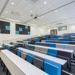 The stunning new lecture theatre @LancsHospitals  #education @LancsHealthAcad #interior #design #NHS #Preston #hospital