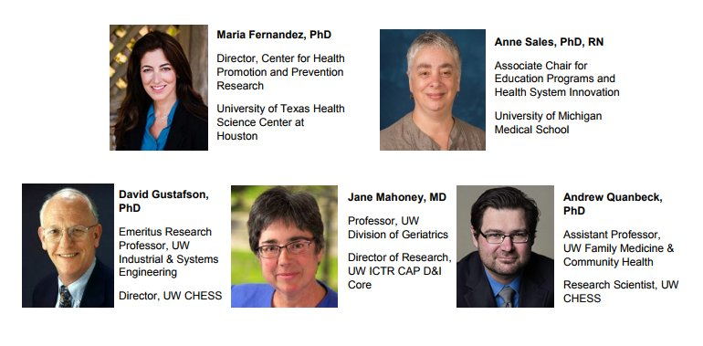 Our Short Course (10/11-13) features leading minds in #dissemination &amp; #implementation #science. Register today!  http:// ow.ly/sCgy30f9N8y  &nbsp;  <br>http://pic.twitter.com/x1PBQl8YnX