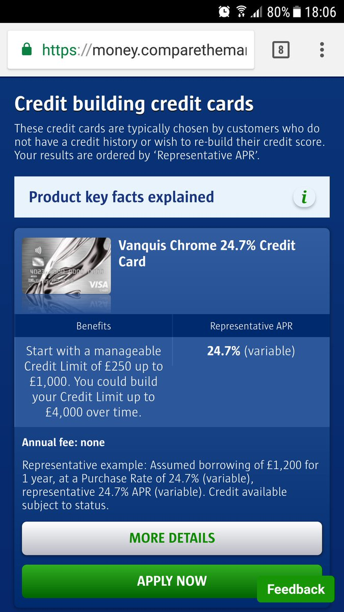 Build card credit credit history looking people
