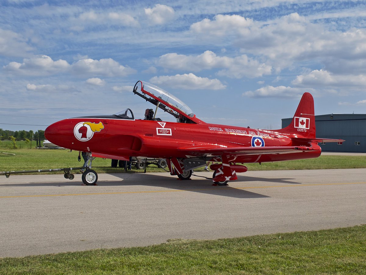 Jet Aircraft Museum on Twitter \ Check out @_JAM_News this weekend at Doors Open London. See our newly restored \ Red Knight\  and maybe take a flight. & Jet Aircraft Museum on Twitter: \