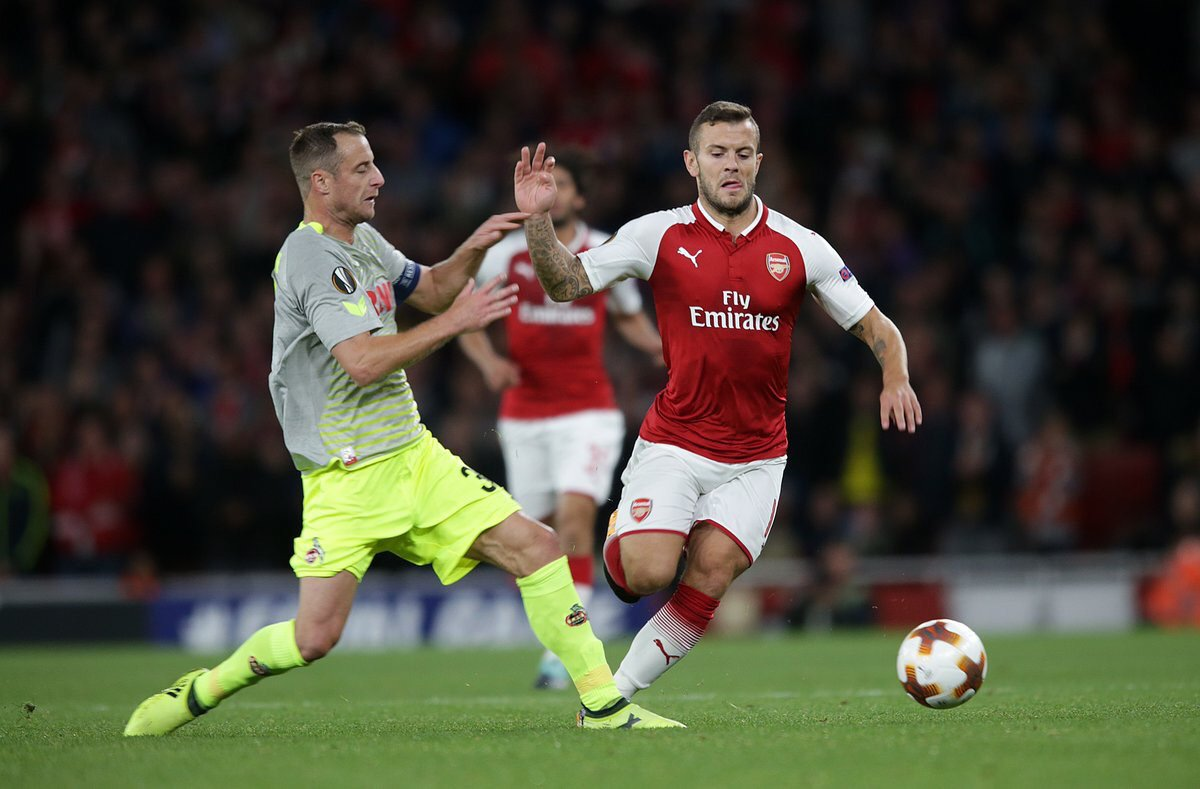 Jack Wilshere sends out emotional message to Arsenal fans after return
