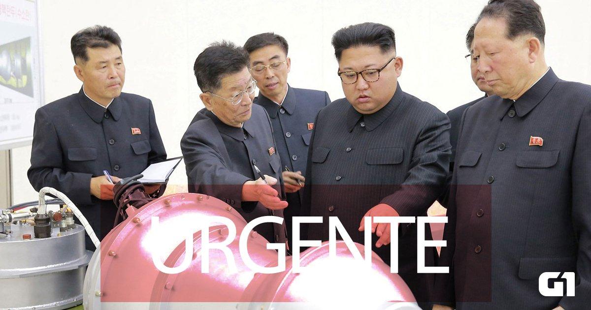 Coreia do Norte lança novo míssil; Japão faz alerta à população https://t.co/jTZzQwmIcV