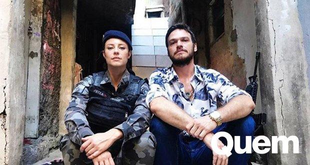 Fica esperta, Jeiza! Inimigos em #AForçadoQuerer, Paolla Oliveira e Emilio Dantas posam juntos: 'Dia de selar a paz' https://t.co/7xWmxgeKrY
