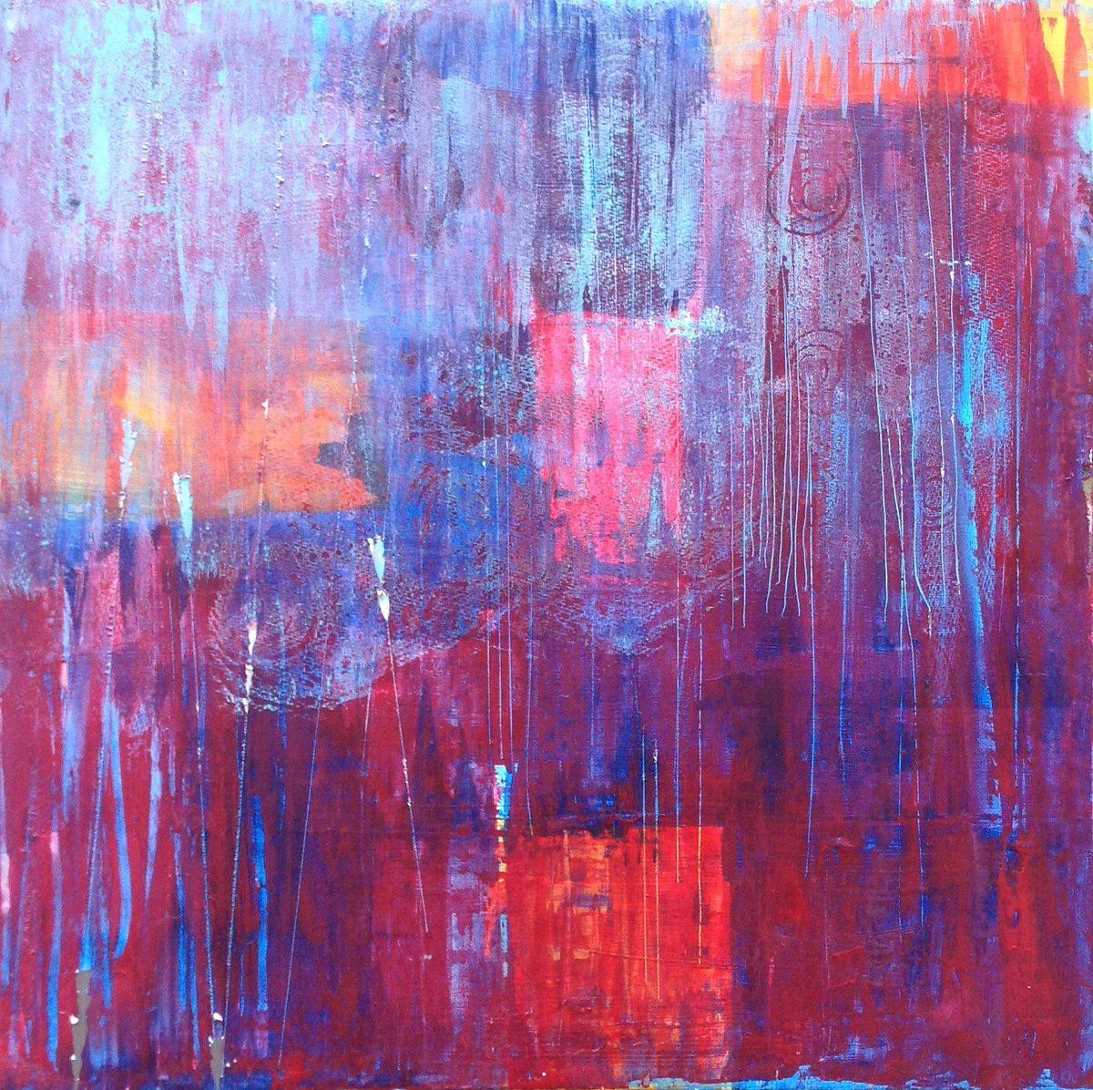WIP - acrylic on canvas #art #abstract #painting #interiordesign  #Interiors #décor #emotive #red #blue #architects #new #ForSale  #vibrant<br>http://pic.twitter.com/giBSWIv3Ix