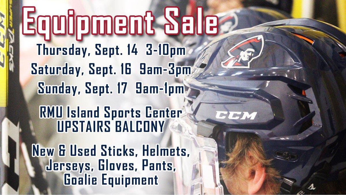 Rmu Men S Hockey On Twitter Equipment Sale Sale Runs