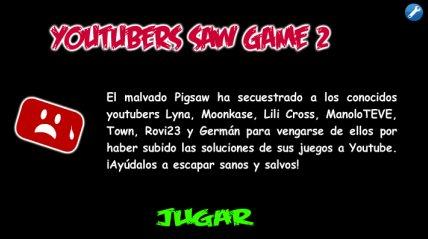 Inkagames V Twitter Ya Pueden Jugar Youtubers Saw Game 2 Como
