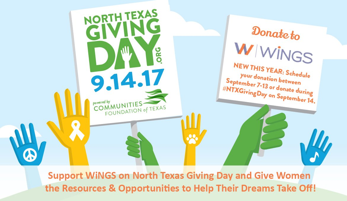 test Twitter Media - It's a great day for #NTxGivingDay! Support @WiNGS_Dallas where we FIGHT POVERTY. EMPOWER WOMEN. IMPACT GENERATIONS. https://t.co/h0V5Zdq24D https://t.co/SM37YugljV