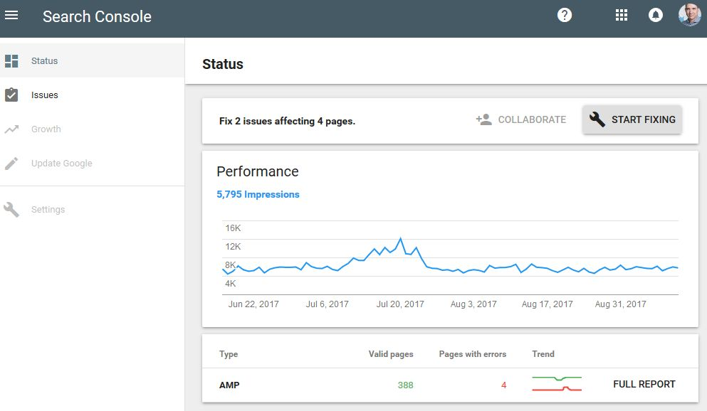 New Google Search Console coming out! Functionality is still very basic, though. #search #ux #Google #searchconsole <br>http://pic.twitter.com/qgTr6EaEtJ