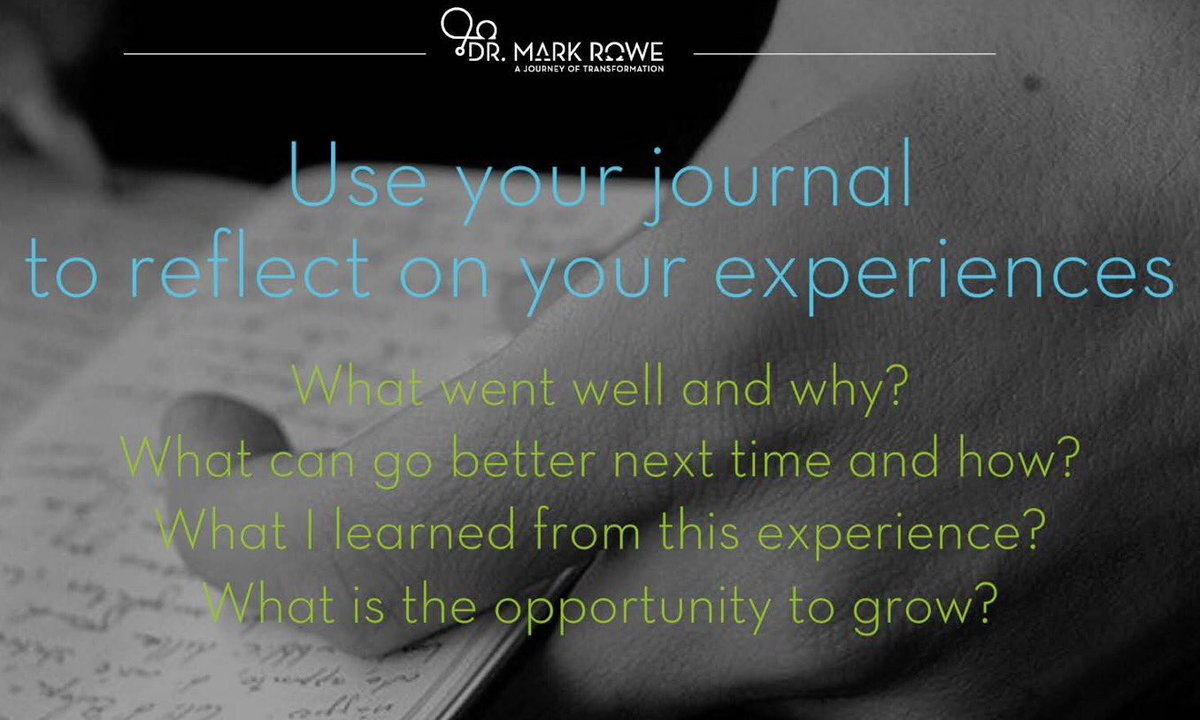 Writing in your journal is a terrific way to get to know yourself better &amp; build a sense of present awareness. #whatwentwelltoday #journal <br>http://pic.twitter.com/8wPvyPOxcJ