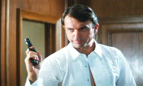 Happy birthday to Sam Neill who was screen tested for the role of James Bond