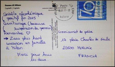 🇫🇷 #Bretagne Elle remercie les policiers car elle a trouvé l'amour grâce à eux. https://t.co/Bt8dUSuxwS