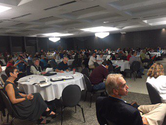 RT @JeffReutter: Great crowd #HABSOS State of Lake Erie HAB conf @ohioseagrant in Toledo today. https://t.co/okiI9KjOEA
