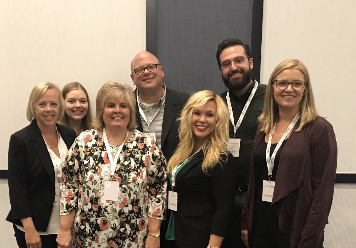 #TeamTunheim was excited to attend the #MNMKTG Summit to learn from &amp; network with top mktg leaders. Thanks all for a great day! @icsummits<br>http://pic.twitter.com/1dePqZx6w9