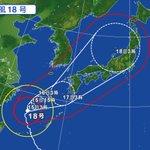 台風18号は進路を東へ変え、土曜日にかけて九州へ近づき、日曜日と月曜日で日本列島を縦断。あす16日か…