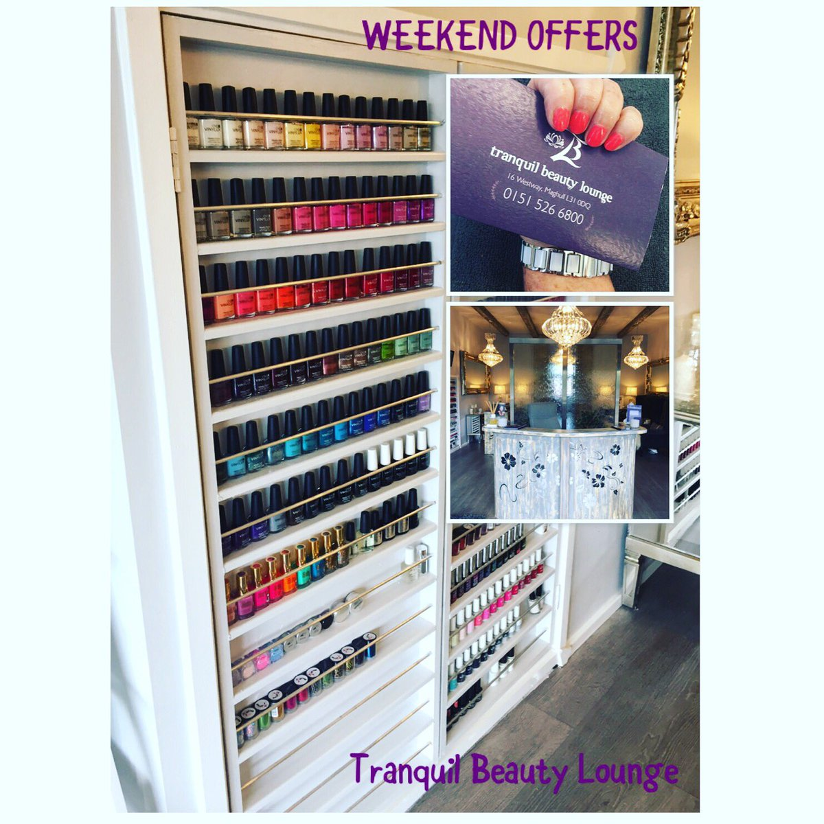 Tranquil beauty on twitter get ready for the weekend girls tranquil beauty on twitter get ready for the weekend girls pamper yourself beautiful with our amazing weekendoffers visit httpstlrriqqksnu solutioingenieria Choice Image