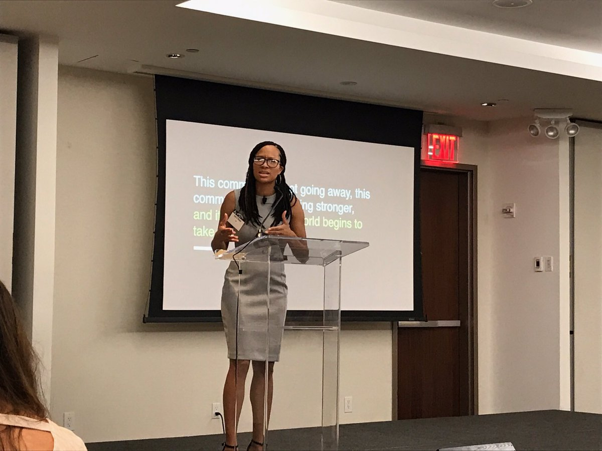 Kelly is at @4As #4AsStratFest this week. Awesome session = @GodisRivera of @VML discussing Black Twitter.<br>http://pic.twitter.com/OH6WzC3HjX