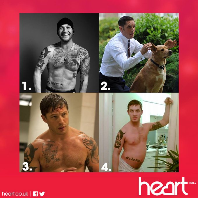 Happy Birthday Mr Tom Hardy! If you were only allowed to pick one which would you pick Ed & Gemma x