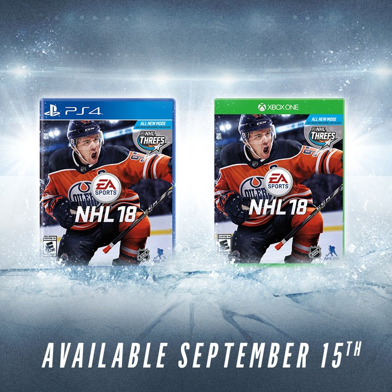 RT @EASPORTSNHL: Who's ready to hit the ice in #NHL18?  RT + Tag a friend for your chance to win a copy! https://t.co/qhcRv47GLW