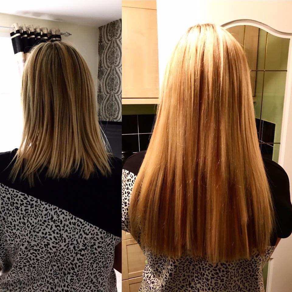 Layers hair