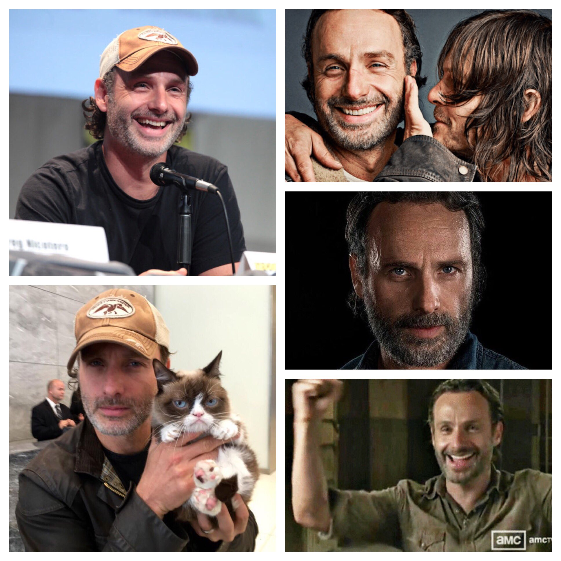 Happy birthday to the one and only Andrew Lincoln!!!
