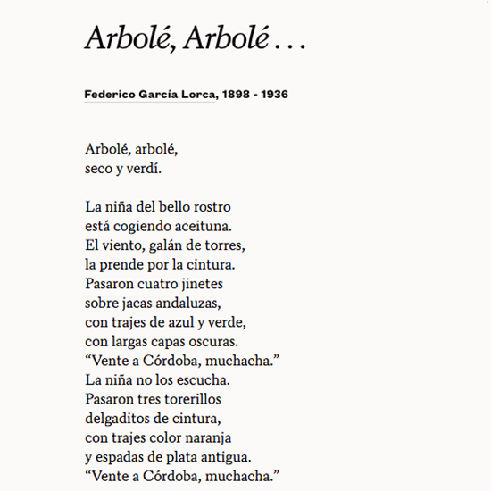 Poetsorg On Twitter Teachers Find Poems In Spanish